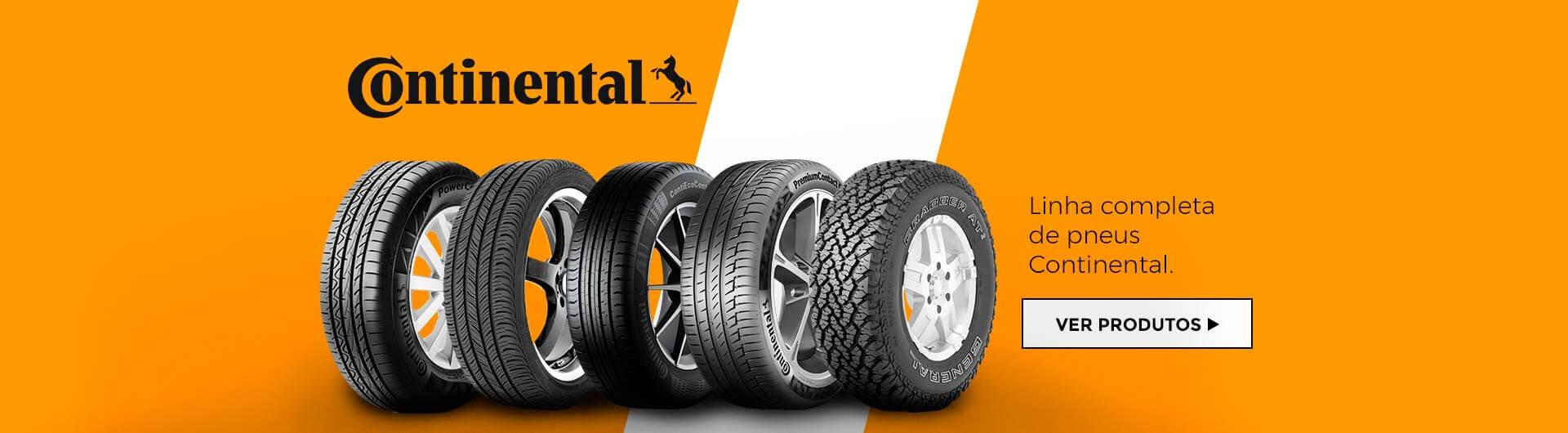 Compre pneu Continental com quem entende!