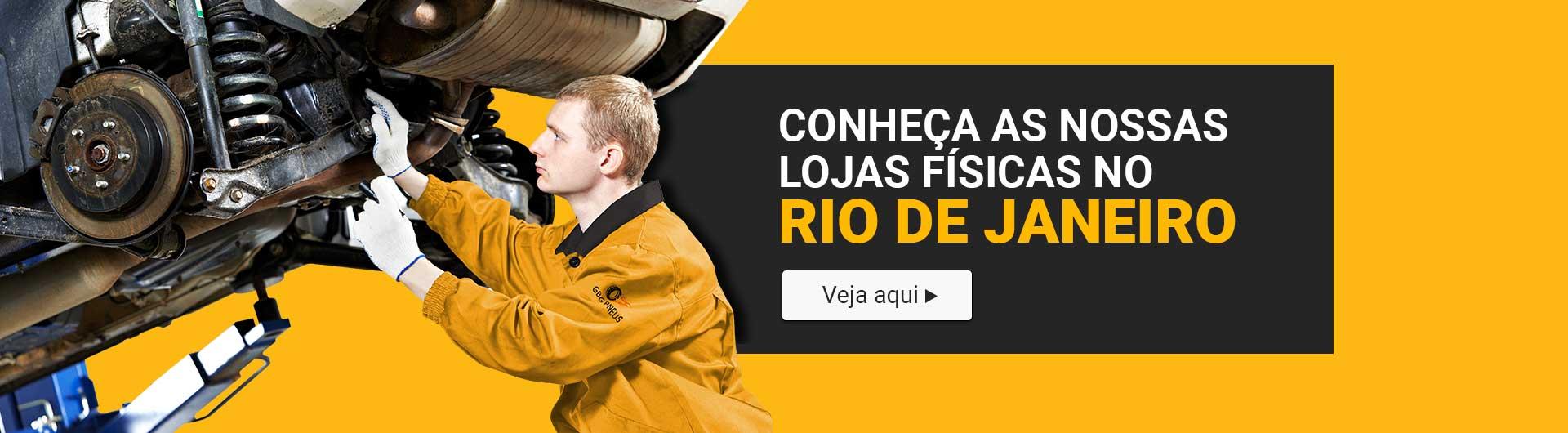 Conheça as nossas lojas de pneus no RJ